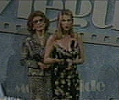 Catherine Oxenberg Accepting 2001 Grace Prize for Televsion