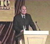 Robert Duvall receiving the 1998 grace Prize